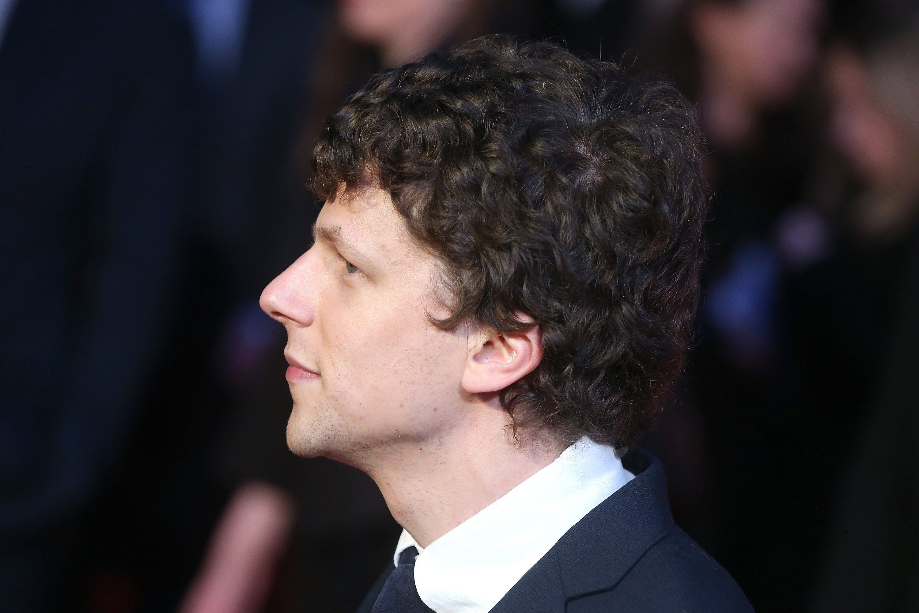 LONDON, ENGLAND - MARCH 22:  Jesse Eisenberg attends the European Premiere of 'Batman V Superman: Dawn Of Justice' at Odeon L