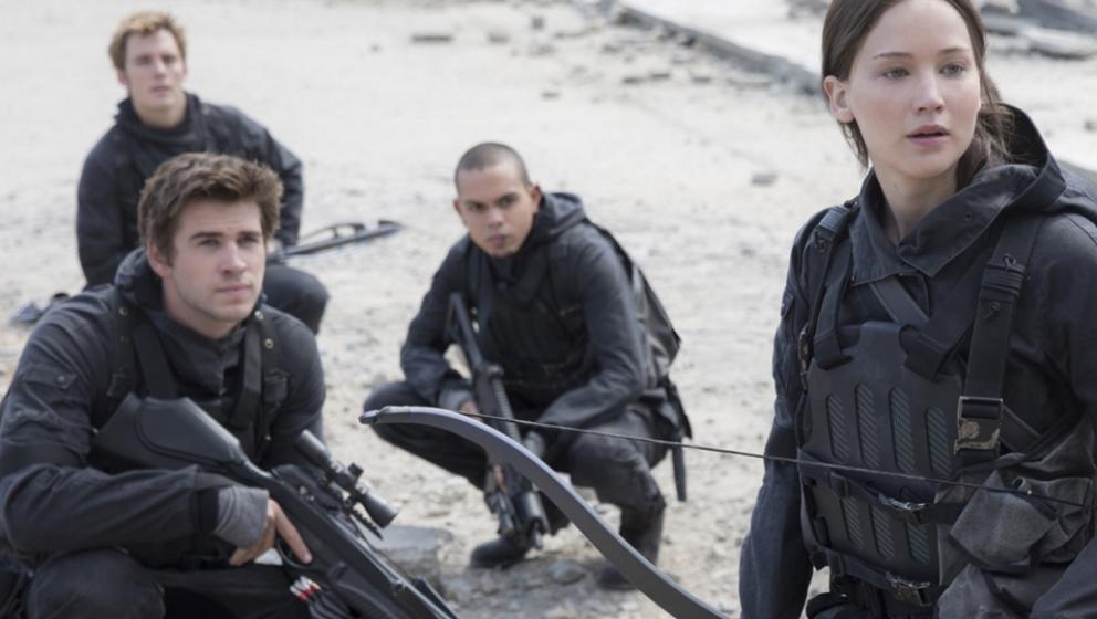 Bereiten sich auf den finalen Kampf vor: Jennifer Lawrence und ihre Rebellen.