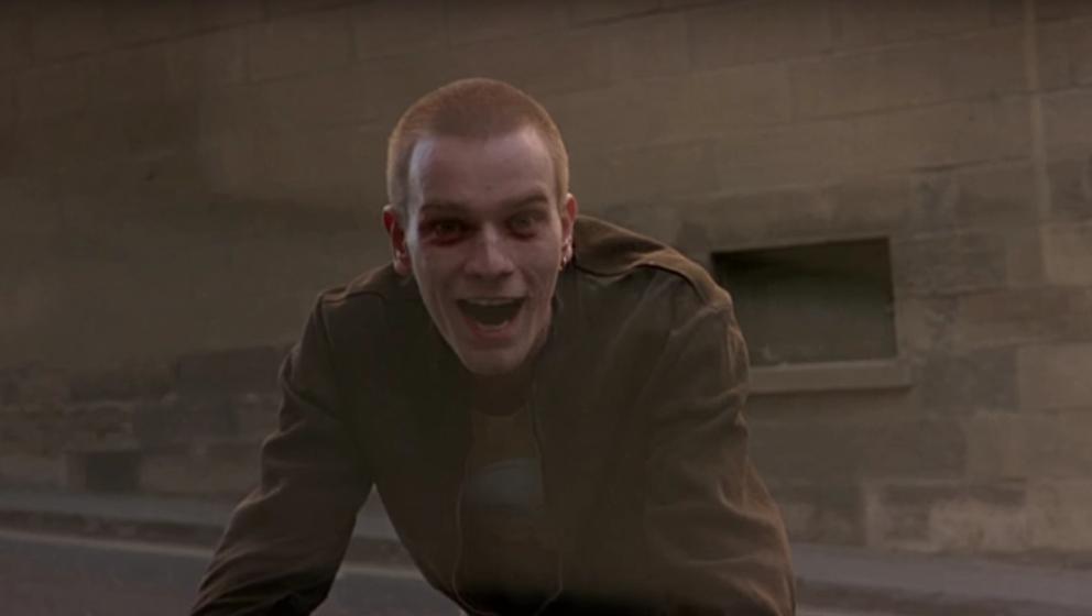 "Ewan McGregor als Renton in ""Trainspotting"""