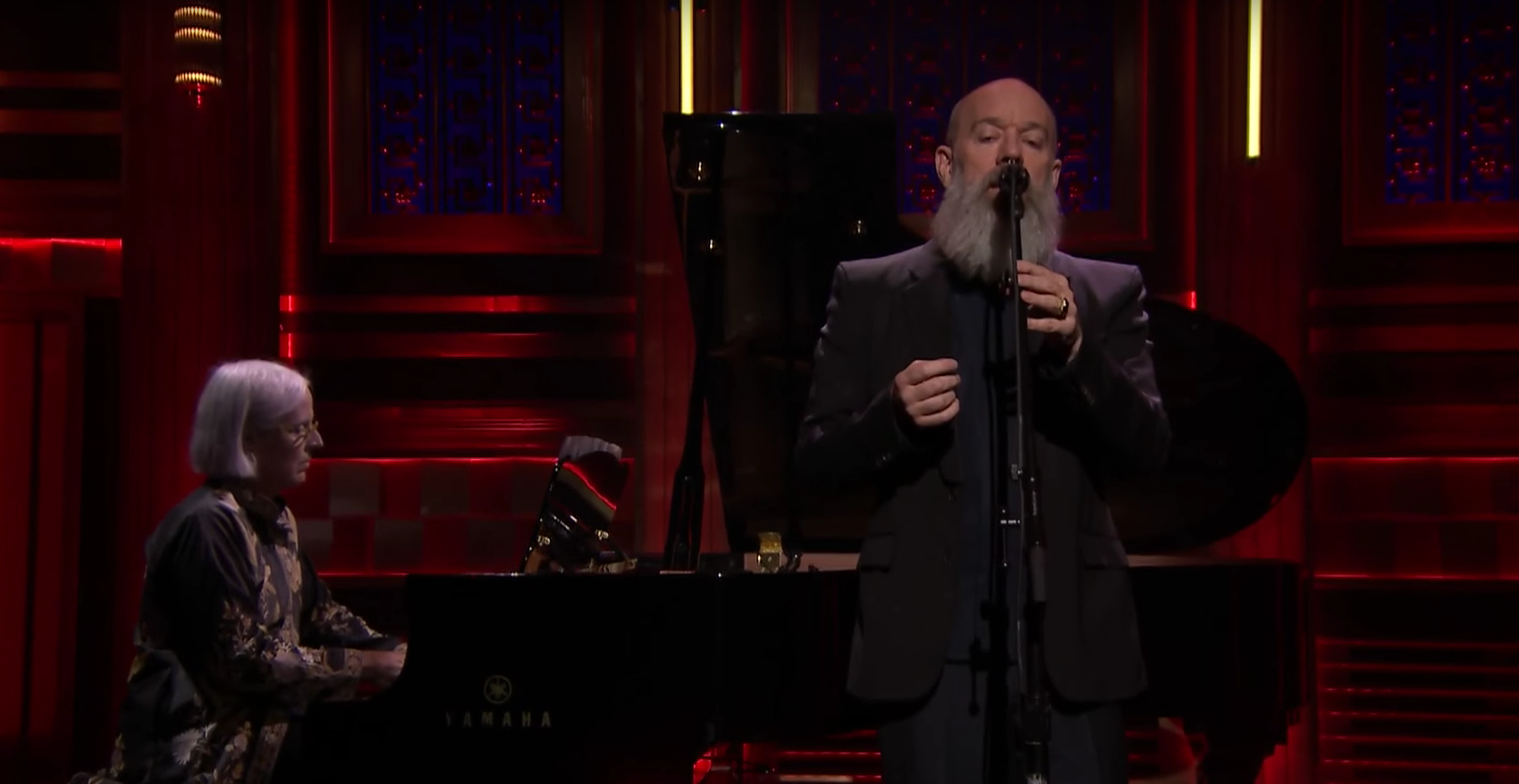 Michael Stipe bei Jimmy Fallon