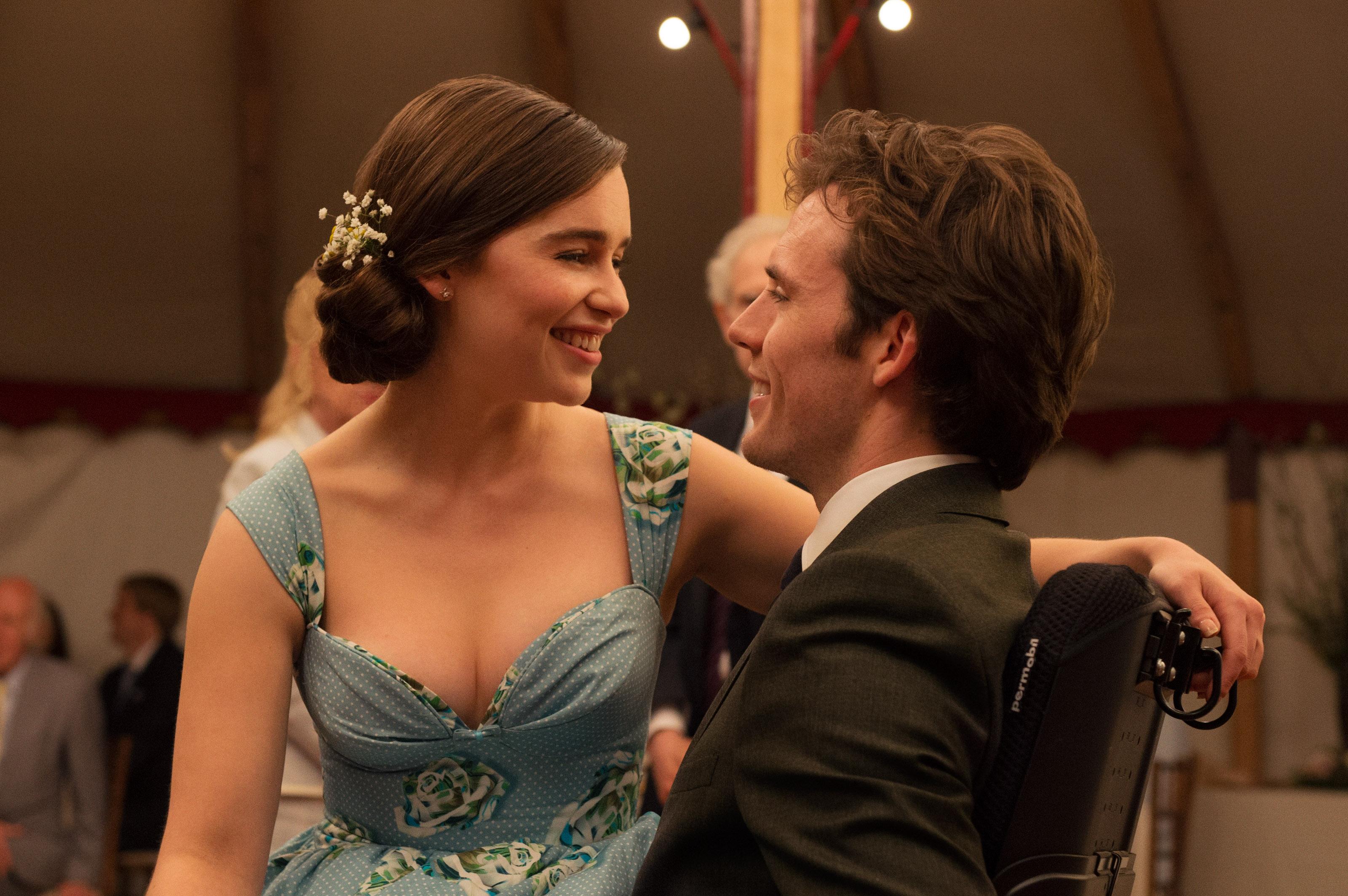 Emilia Clarke und Sam Claflin.