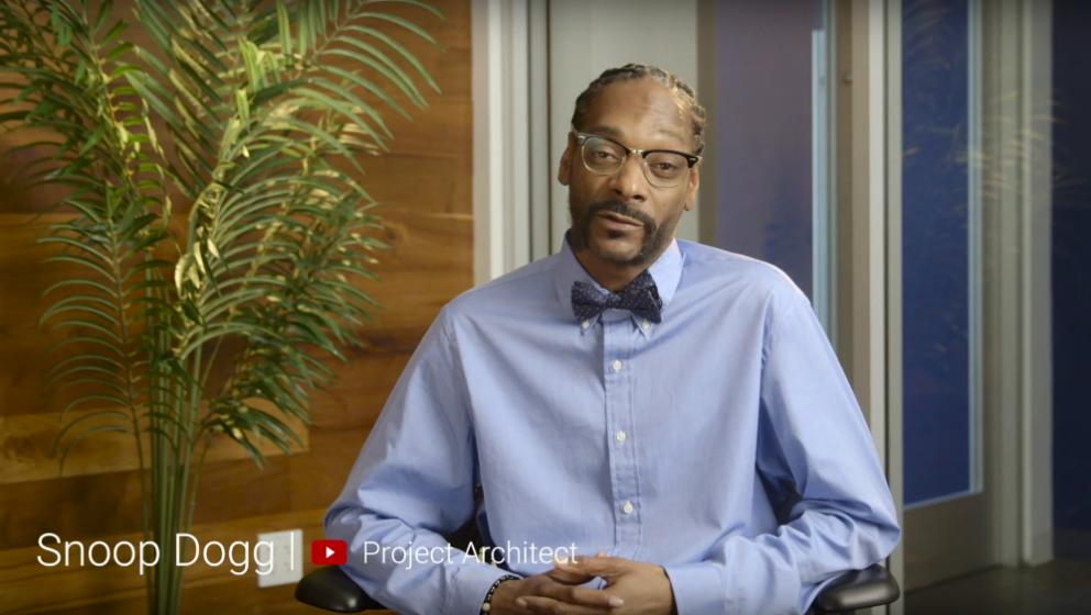 Snoop Dogg sieht die Welt in 360 Grad – ein Genie!