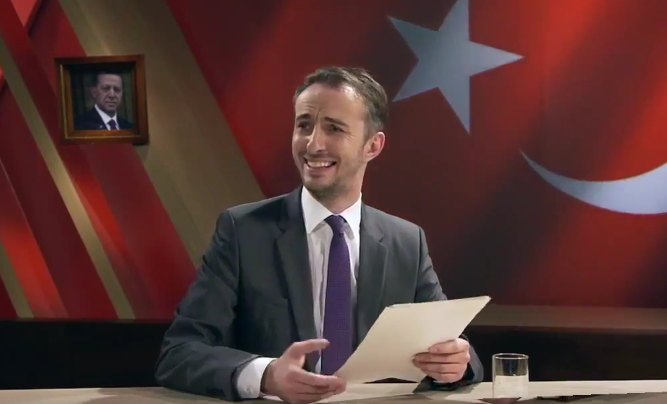 Jan Böhmermann gegen Erdogan.