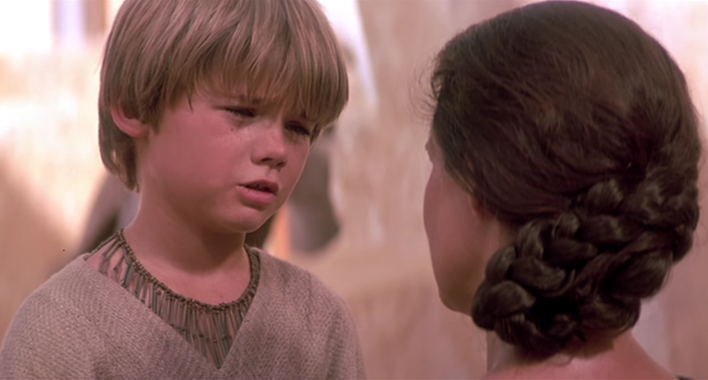 "Jake Lloyd  in ""Star Wars Episode I: Die dunkle Bedrohung""."