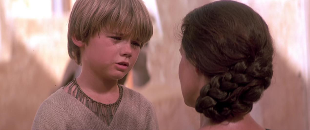 "Jake Lloyd  in ""Star Wars Episode I: Die dunkle Bedrohung""."