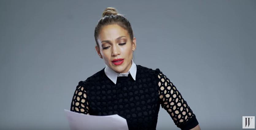 """Jennifer Lopez liest moderne Poesie alias """"Baby Got Back"""""""