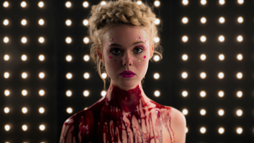 "Elle Fanning in Nicolas Winding Refns ""The Neon Demon""."