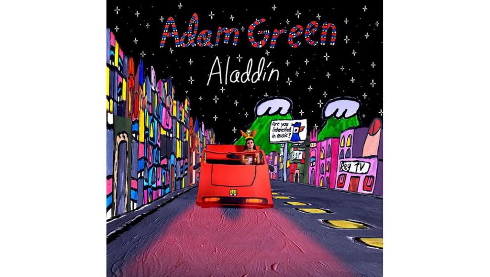 Platz 10: Adam Green - ALADDIN (VÖ: 29.4.) - Durchschnittswertung der Redaktion: 3,25/6