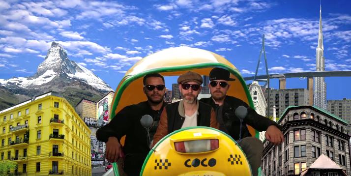 Die Veteranen von der Reeperbahn: (v.l.) Denyo,  DJ Mad und Eizi Eiz