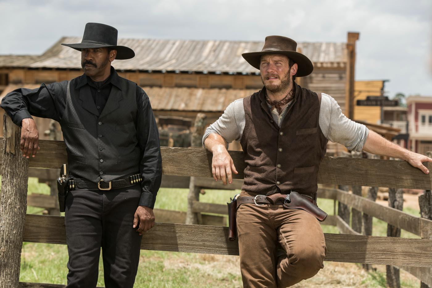 """Denzel Washinton und Chris Pratt sind zwei der """"Glorreichen Sieben""""."""
