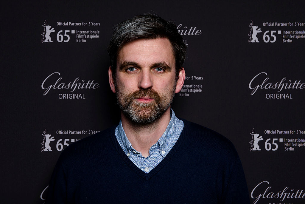 BERLIN, GERMANY - FEBRUARY 08: Sebastian Schipper attends the Glashuette Original lounge during the 65th Berlinale Internatio