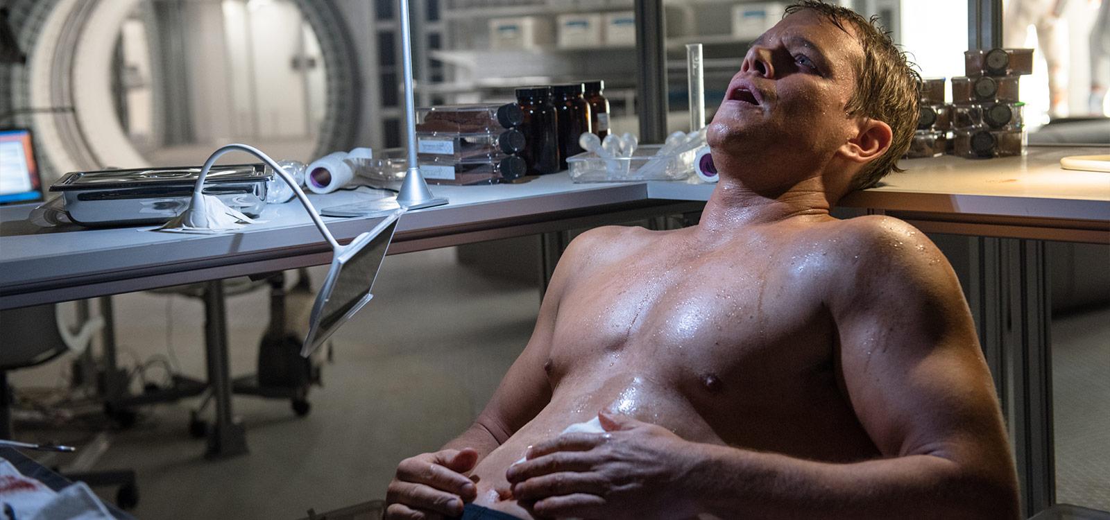 """Matt Damon unterzog sich in """"Der Marsianer"""" einer schmerzhaften Operation. Die Golden-Globe-Jury fand das wohl besonders"""