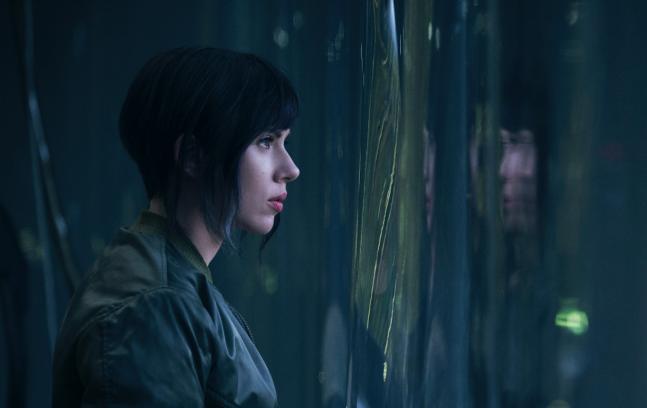 Scarlett Johansson als Motoko Kusanagi.