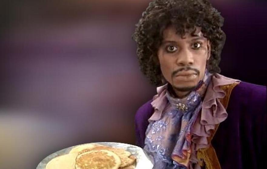 Ein Sketch als Startschuss für eine jahrelange Freundschaft: Chappelle als Prince.