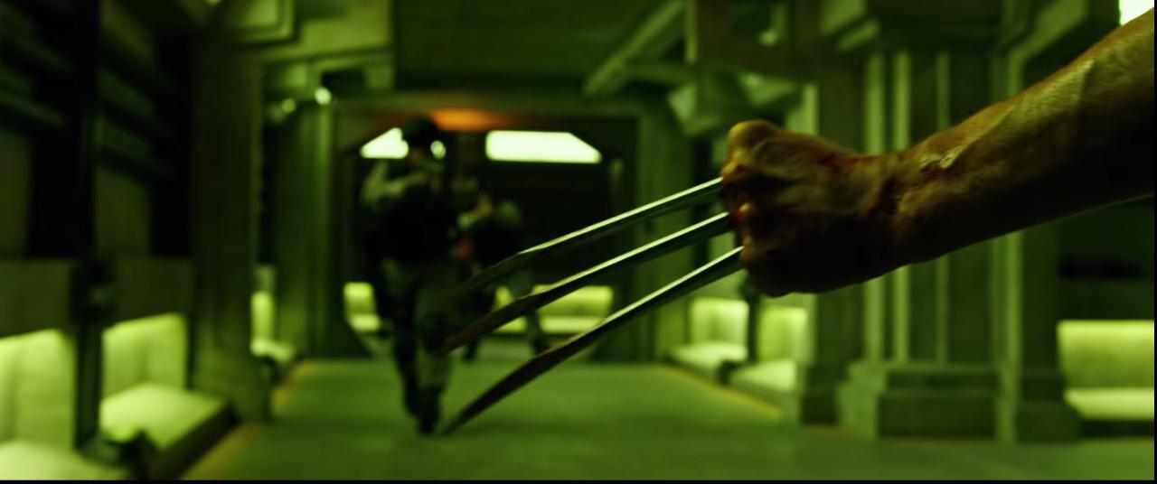 """Kein """"X-Men""""Film ohne Metallklauen."""