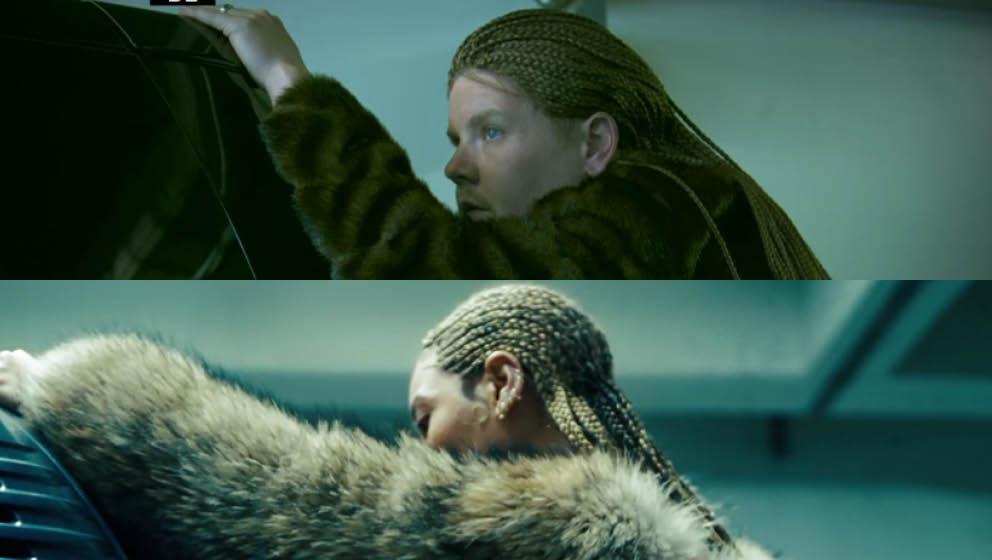 James Corden versus Beyoncé – zum Verwechseln ähnlich (Und nein, das ist nicht Axl Rose mit Braids)
