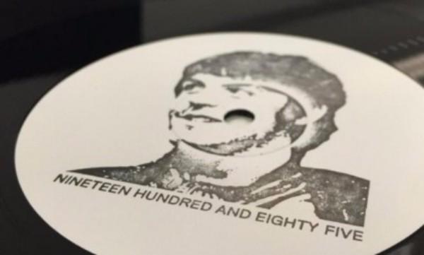 So sieht die White-Label-Platte aus, die Paul McCartneys Remix-Premiere einläutete.