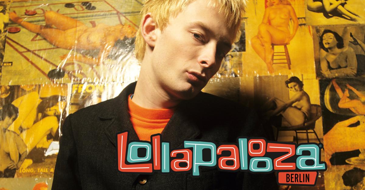 Spielt beim Lollapalooza sein einziges Deutschland-Konzert in diesem Jahr: Thom Yorke von Radiohead