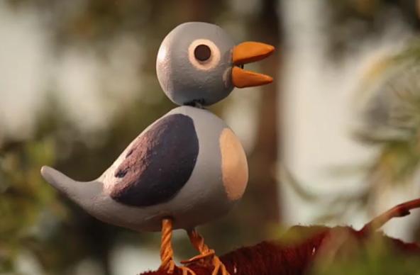 Weiß bestimmt mehr als wir: Diesen Vogel schickten Radiohead Dienstagmorgen ins Netz