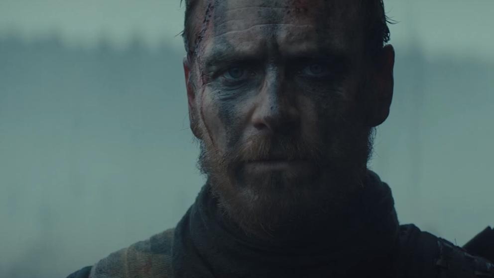 Schaut bereits in seinem Film Macbeth wie ein Serienkiller aus: Michael Fassbender.