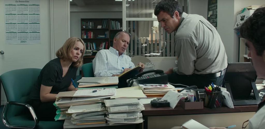 """Die Darsteller von """"Spotlight"""". Auch bei den Golden Trailer Awards hat der Film gewonnen."""