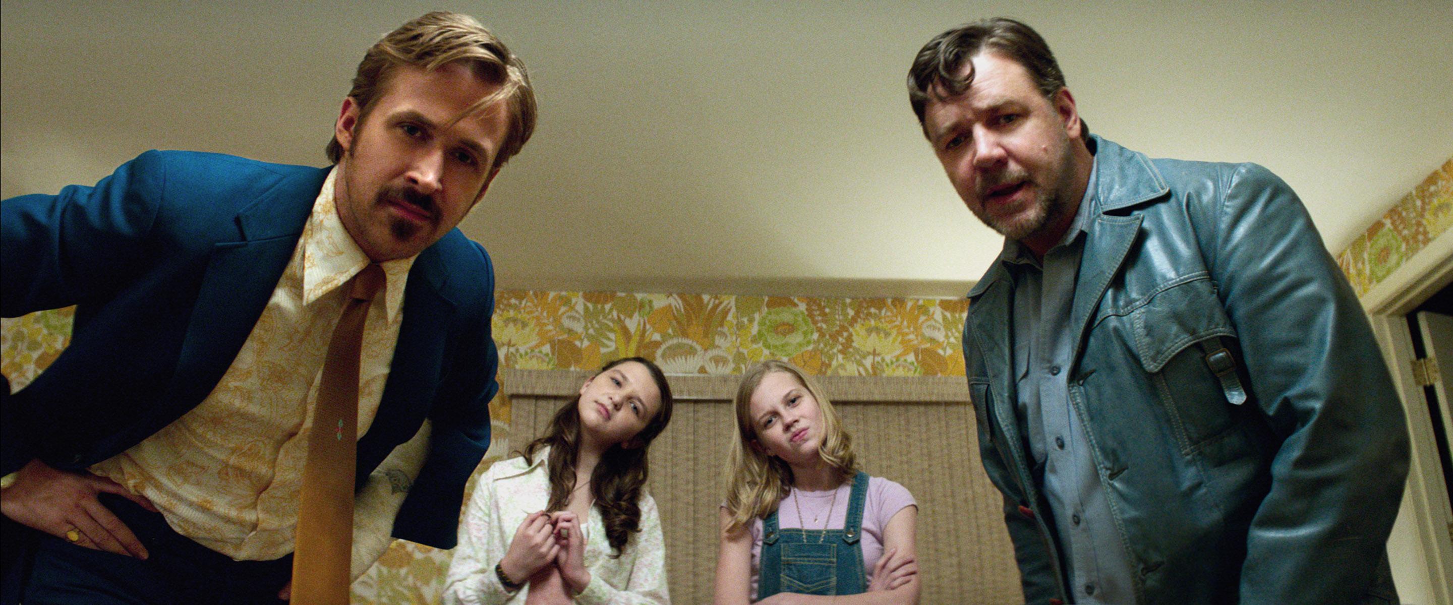 """Ryan Gosling (""""The Big Short"""") und Russel Crowe (""""Gladiator"""") bilden das Ermittler-Duo in """"The Nice Guys""""."""