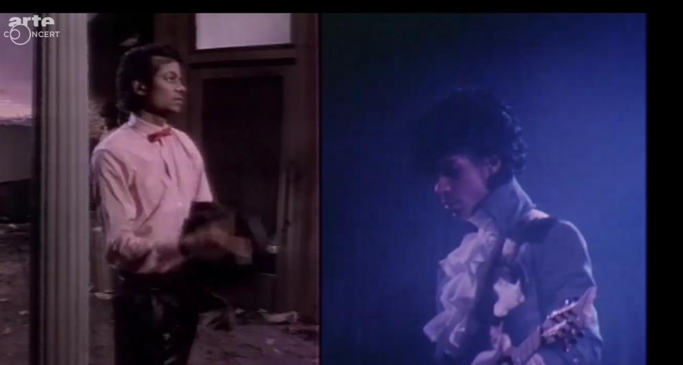 """Die beiden Musikgrößen zusammen in der Arte-Doku """"Doctor Prince und Mister Jackson"""""""
