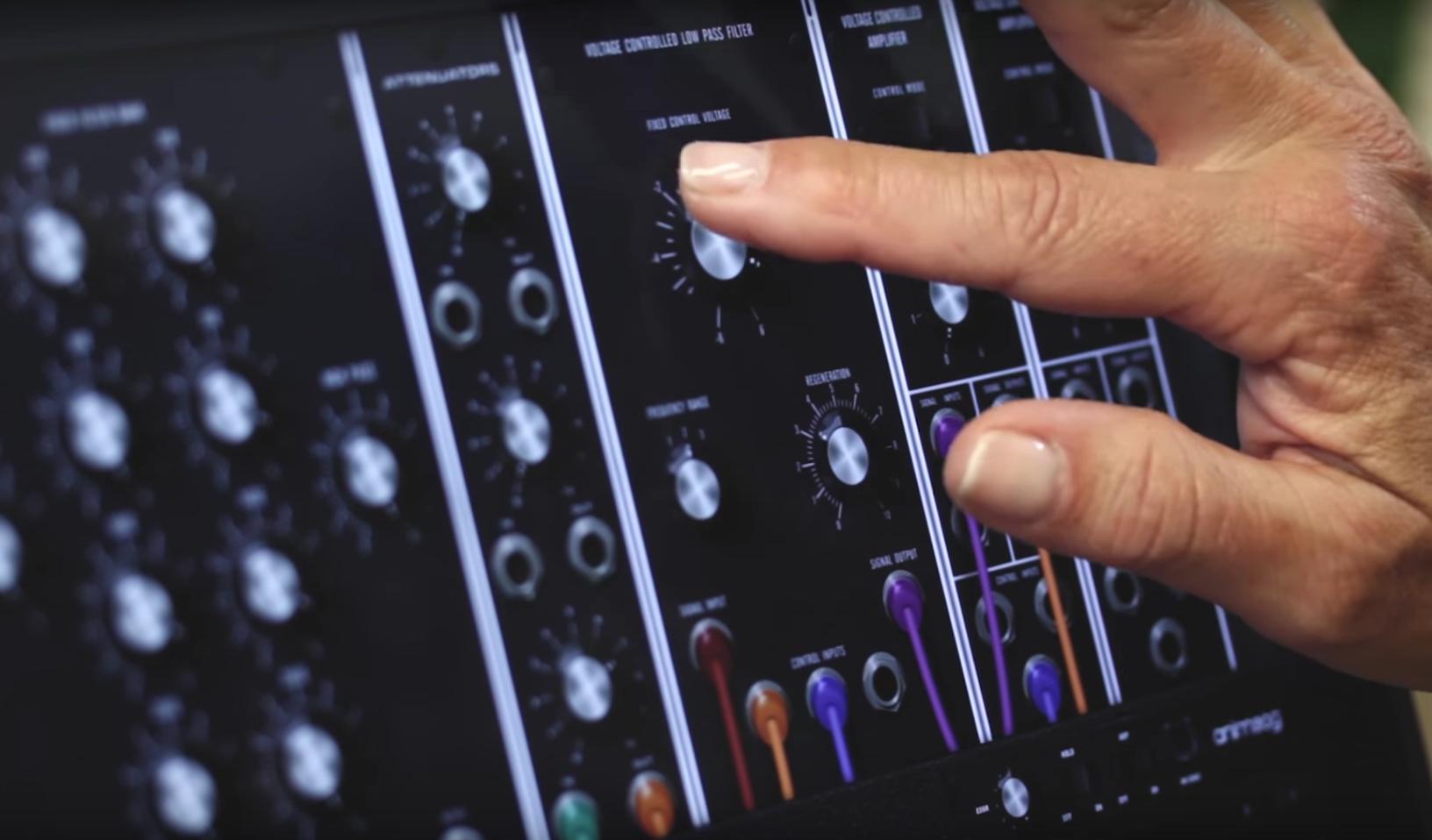 Moog hat ein Stück Musikgeschichte als App herausgebracht.
