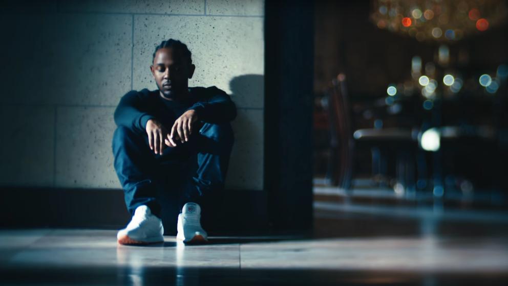 Kendrick Lamar im Werbespot von Reebok.