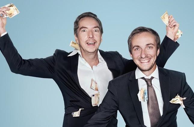 Olli Schulz und Jan Böhmermann sind ab dem 15. Mai auf Spotify zu hören.