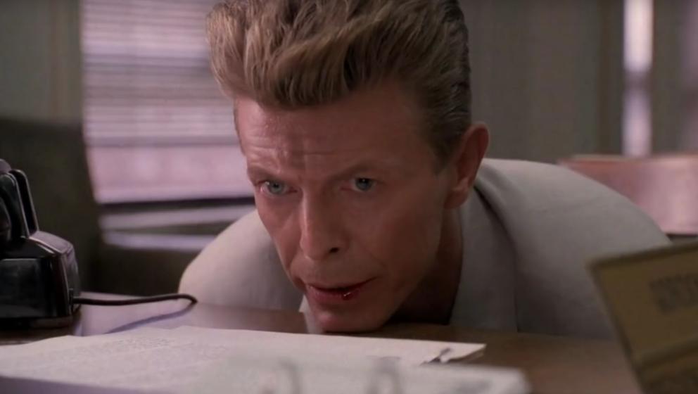 "David Bowie als Phillip Jeffries in ""Fire Walk With Me"""