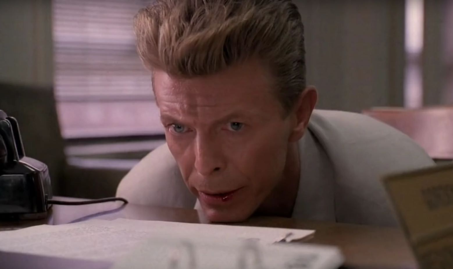 "David Bowie als Phillip Jeffries in ""Fire Walk With Me"""