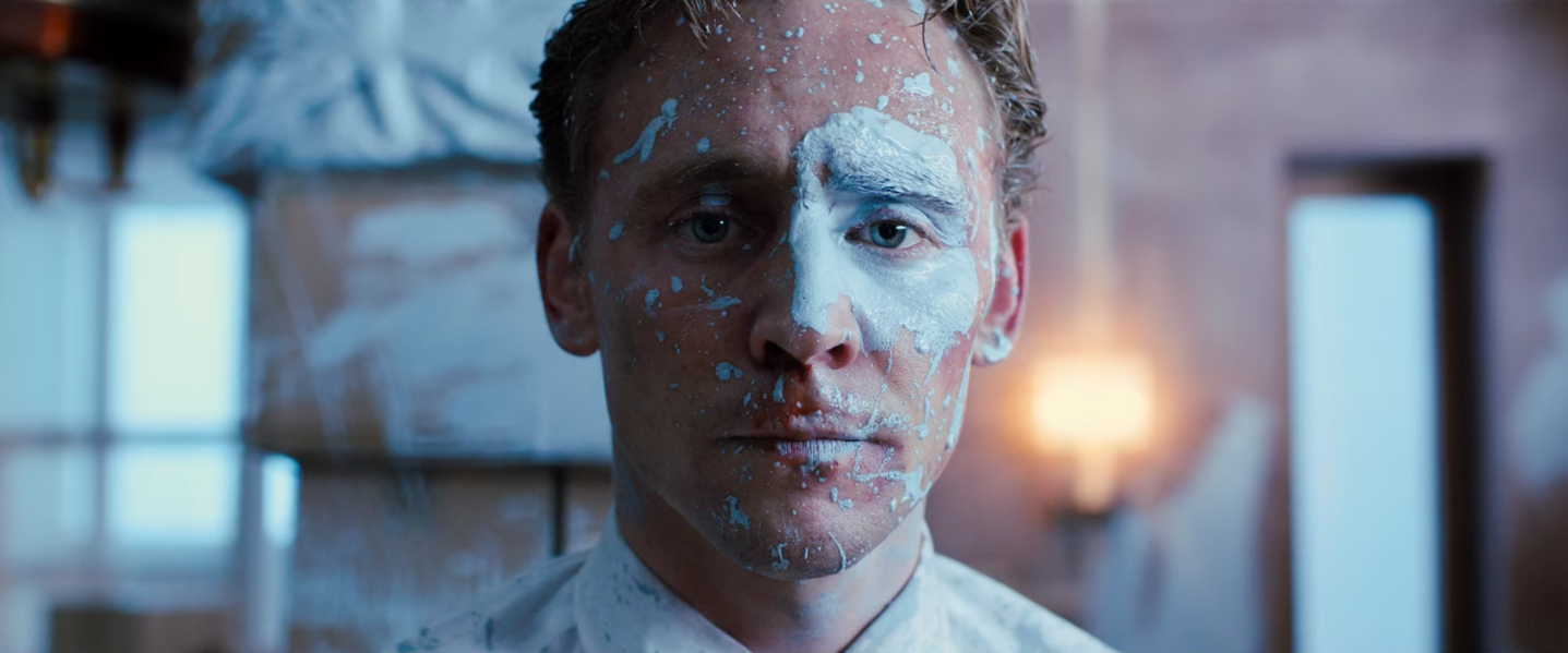 "Tom Hiddleston in ""High-Rise""."