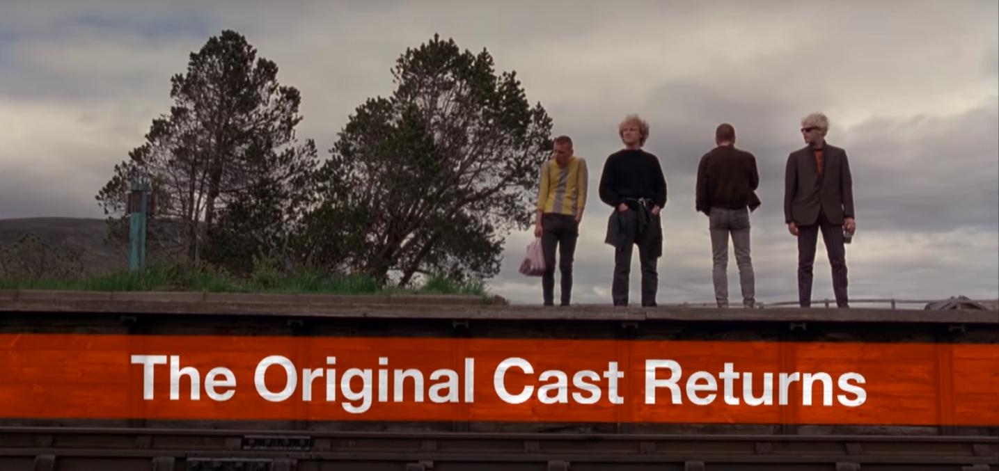 """Beruhigende Nachricht für alle """"Trainspotting""""-Fans: Alle Hauptdarsteller kehren zurück."""