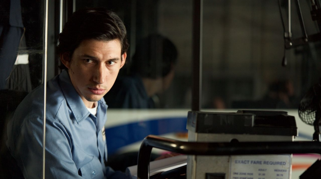 "Adam Driver in Jim Jarmuschs ""Paterson""."