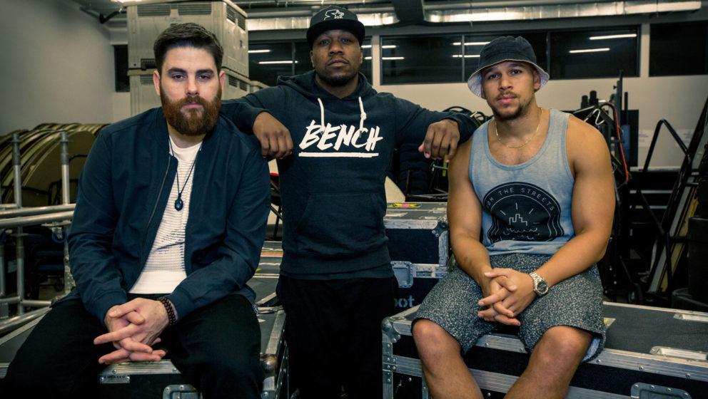 Die Bandmitglieder von Rudimental sind die neuen Gesichter der Urban-Wear-Marke Bench.