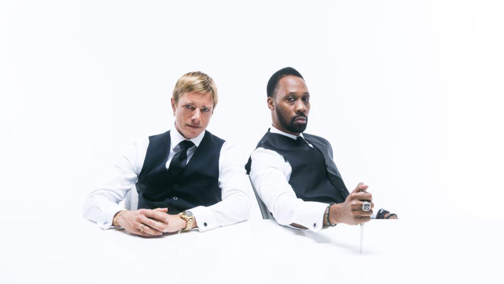 Paul Banks und RZA.