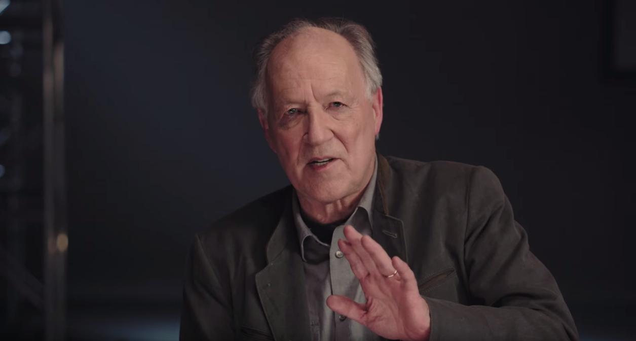 Werner Herzog teilt sein Wissen mit jungen Filmemachern.