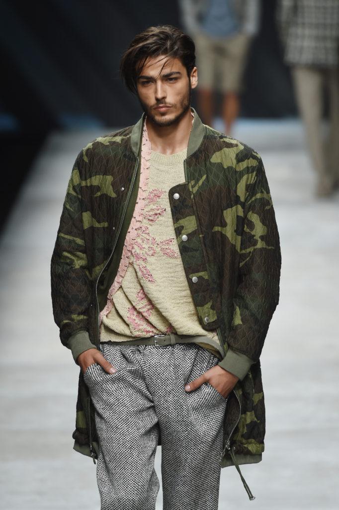 Die Frühling-Sommer-2016-Kollektion von Ermanno Scervino verbindet High-Fashion mit Street-Attitude. (Tullio M. Puglia Getty Images)