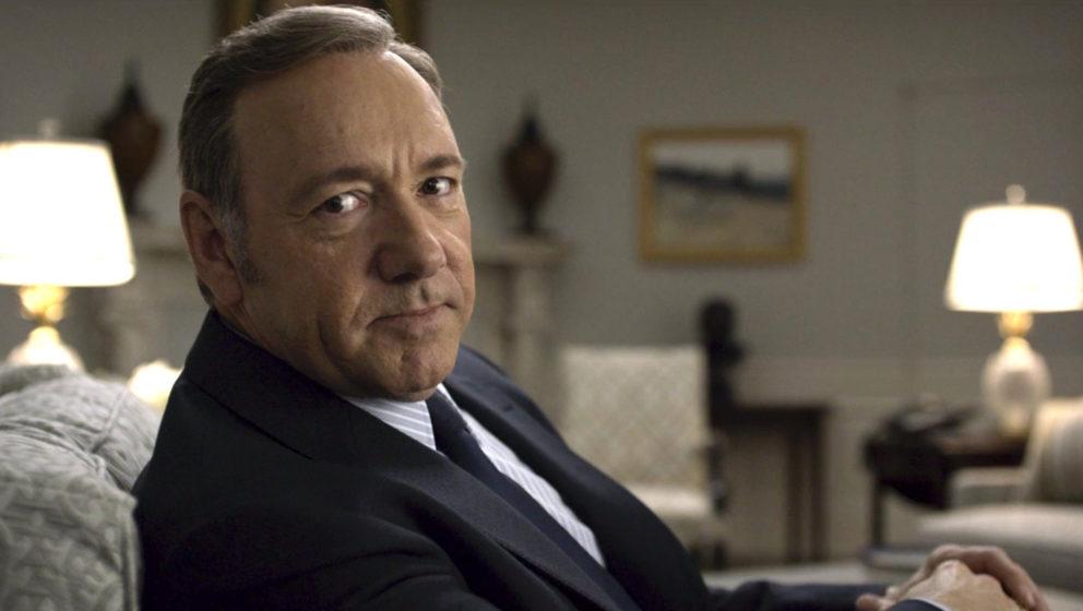 """Durch die erste eigensproduzierte Serie, """"House of Cards"""", mit Kevin Spacey, kam Netflix 2013 zu großem Erfolg."""