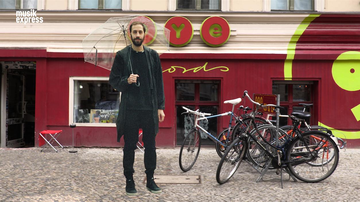 Gold Panda spazierte mit uns durch Berlin