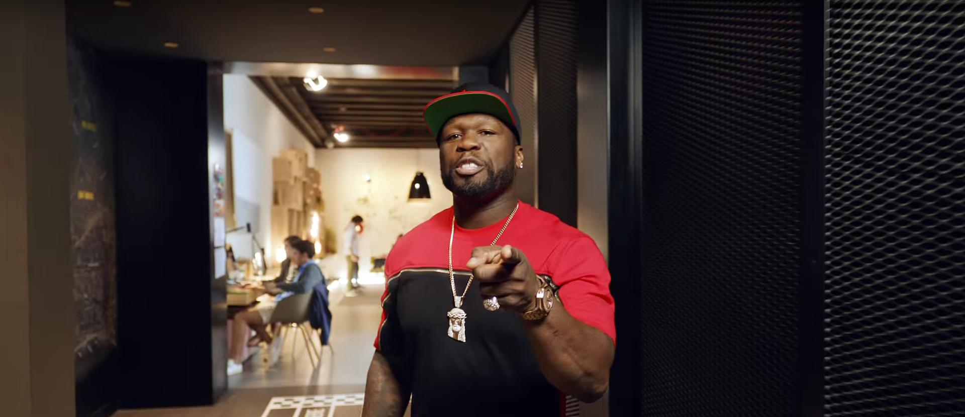 Hostellin' statt hustlin': 50 Cent s neuer Werbecoup