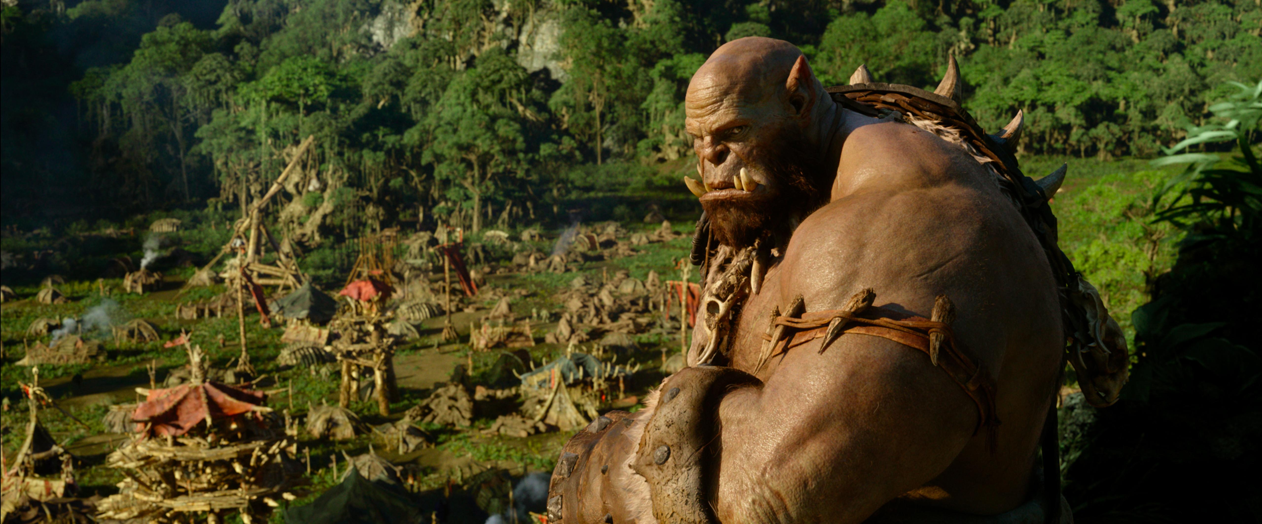 Die Orcs sind die unumstrittenen Stars des Films.