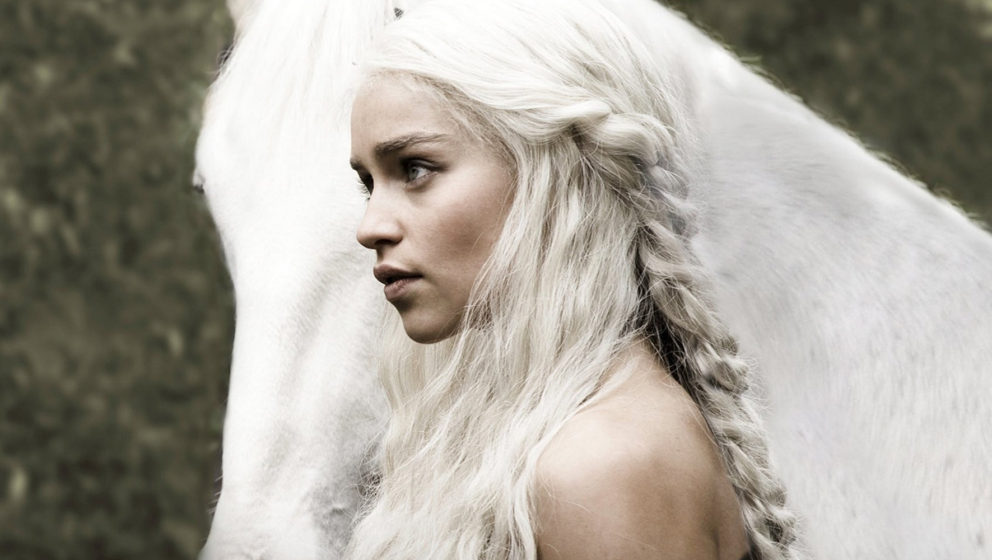 "Emilia Clarke als Daenerys Targaryen in ""Game of Thrones""."