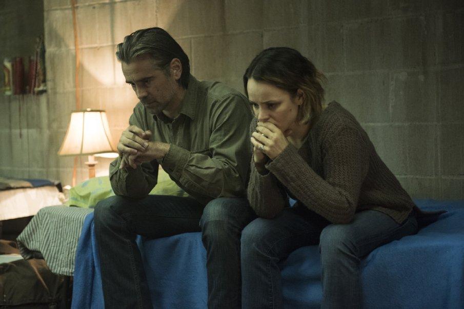 """Colin Farrell und Rachel McAdams in der zweiten Staffel von """"True Detective""""."""