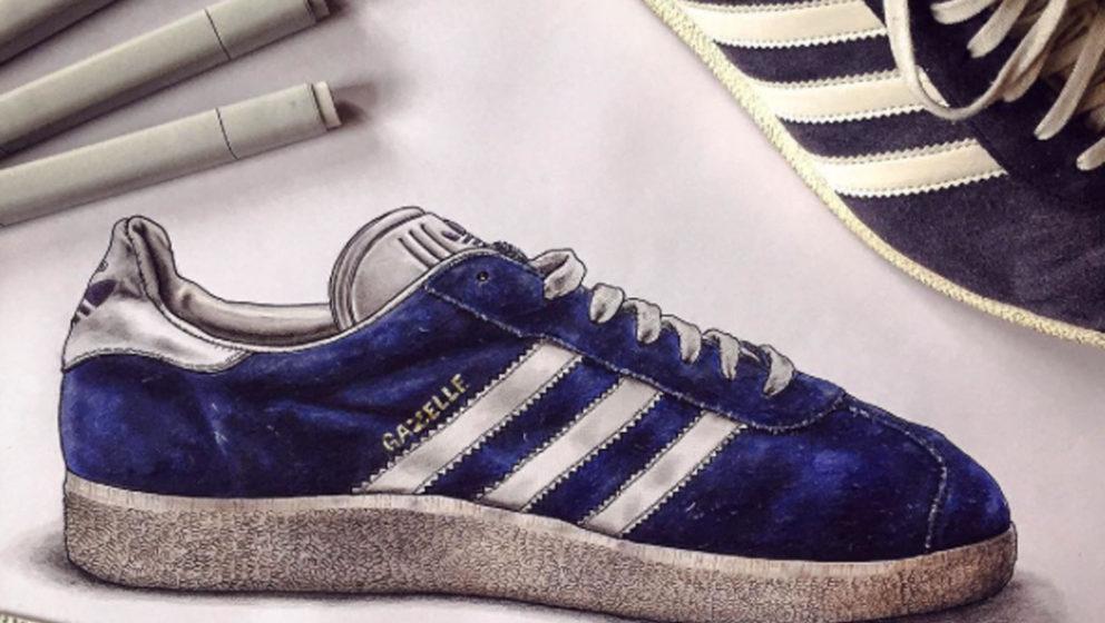 Trend Schuh Alert: Adidas Legt Das Sneaker Modell U201eGazelleu201c In 53 Farben  Neu Auf