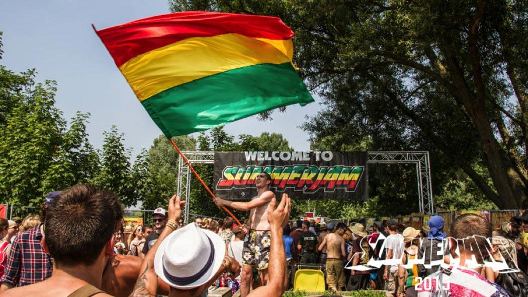 Das Summerjam ist eines der größten Reggae- und HipHop-Festivals in Europa.