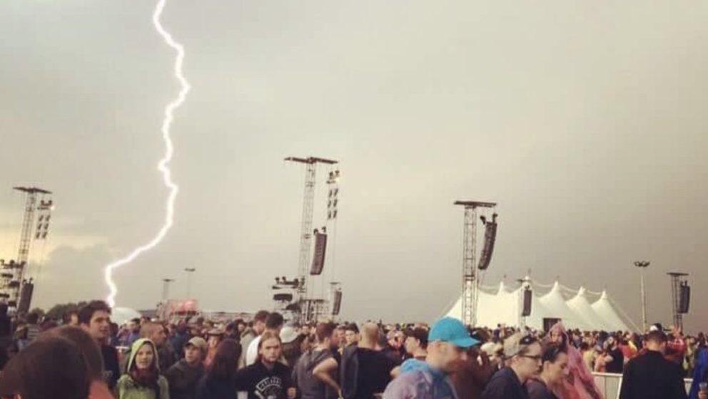 Verletzte nach Blitzeinschlag bei Rock am Ring