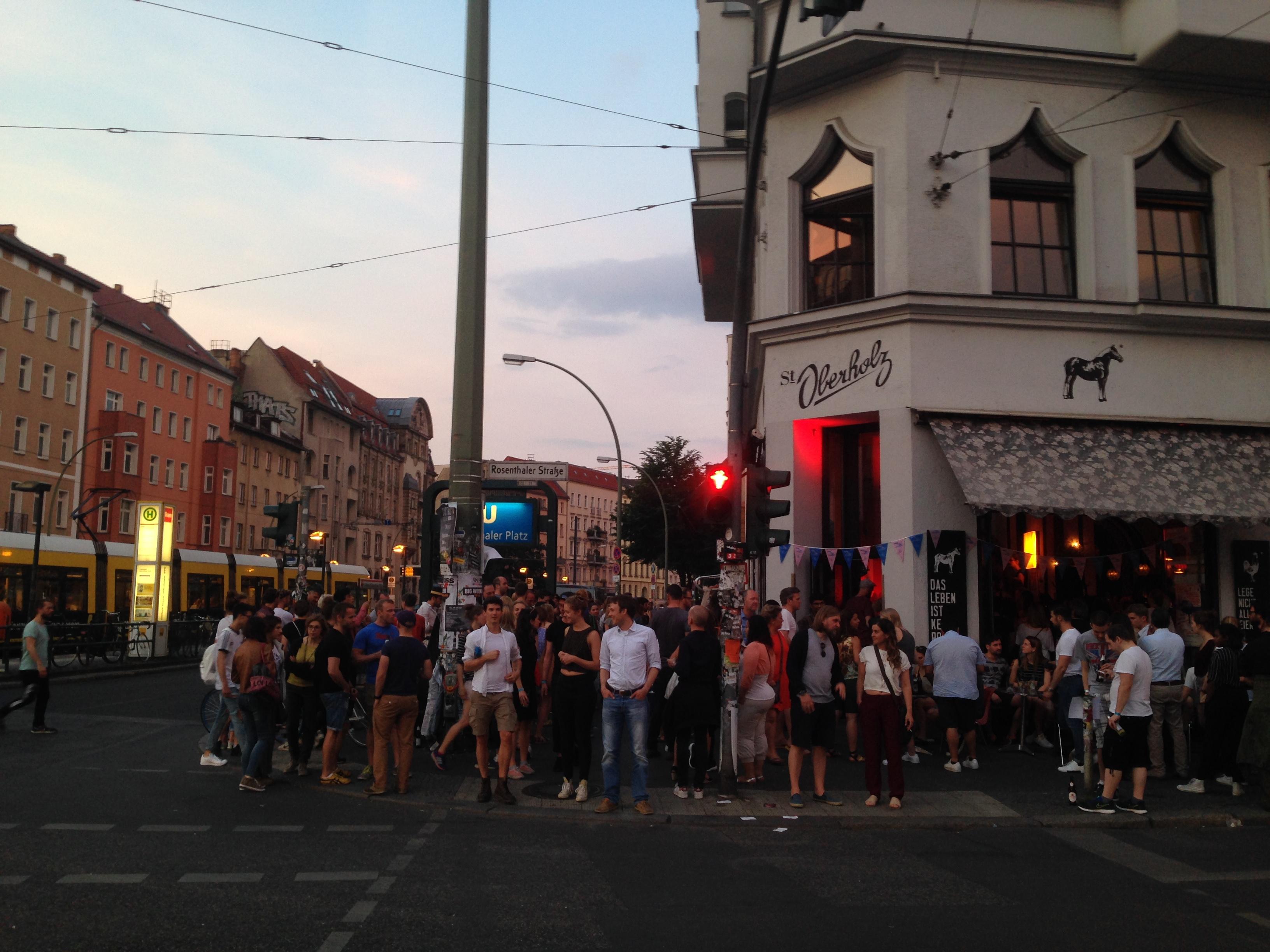 Das Torstraßen Festival 2016 im Café St. Oberholz am Rosenthaler Platz