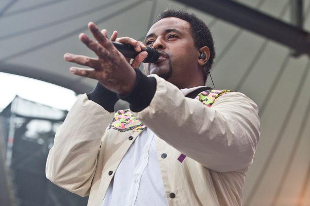 Fetsum auf der Waldbühne beim Peace x Peace Festival 2016.